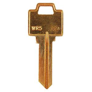 Weiser Key Blank WR5