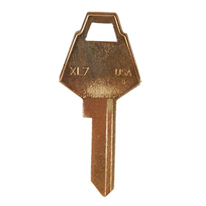 XL Lock Key Blank XL7