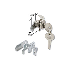 Multi-Cam Mailbox Lock 5 Cams Clip-On