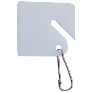 Slotted Square Key Tag Square Key Tag