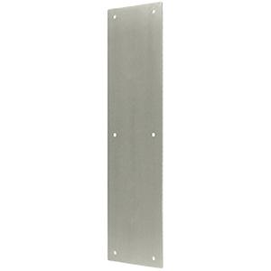 Push Plate Aluminum