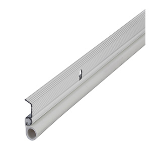 Door Seal Weatherstrip Set Aluminum/Foam White
