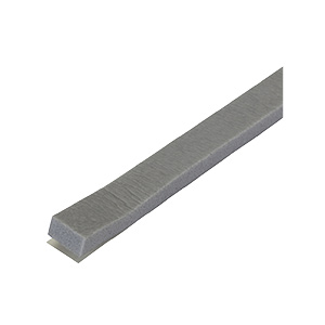 "Weatherstrip Tape Foam Closed Cell 3/4""W x 1/2""W x 10 Ft"