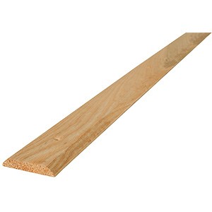 "Door Threshold Hardwood 1-3/4""W x 5/16""H x 36""L"