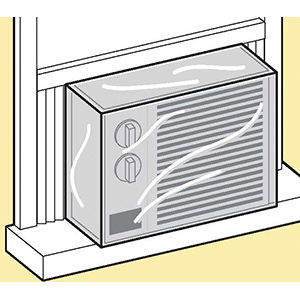 Window Air Conditioner Interior Cover