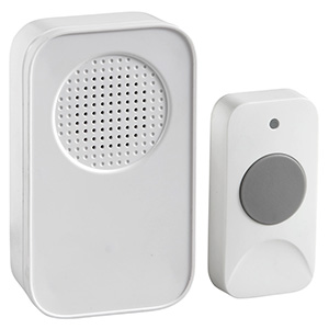 Wireless Plug-In Door Chime White