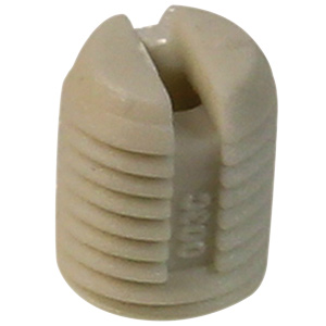 White 8mm Plastic Anchor