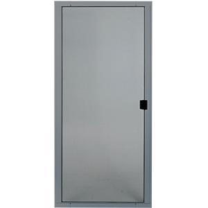 """Screen Door Adjustable Steel 36"""" Gray"""