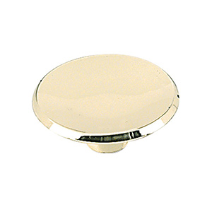 Bifold Door Knob Polished Brass 1-3/4""