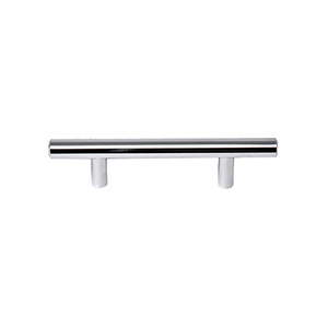 Cabinet Drawer Pull Polished Chrome 3""