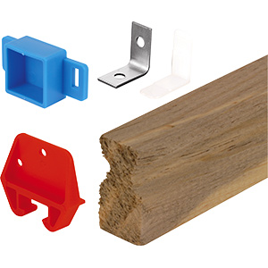 Drawer Slide Kit Wood 24""