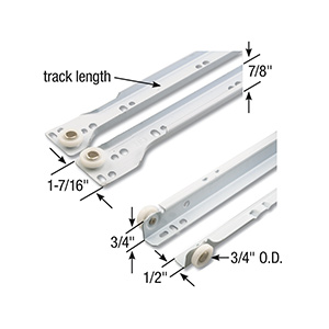 Drawer Slide Kit 22""