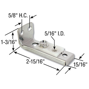Bifold Door Bottom Pivot Bracket