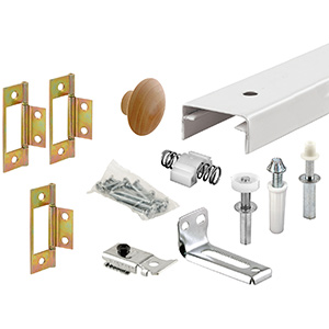 Bifold Door Track and Hardware Kit 36""