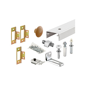 Bifold Door Track and Hardware Kit 48""