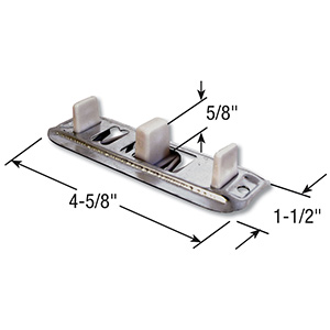 Bypass Adjustable Floor Guide
