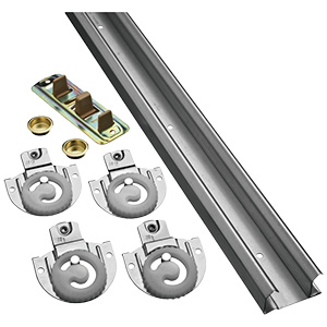 Bypass Door Hardware Kit 48""
