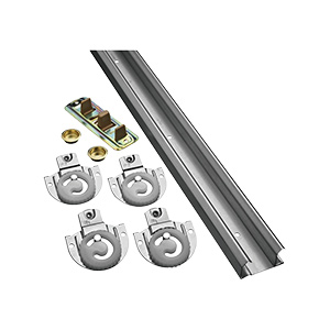 Bypass Door Hardware Kit 72""