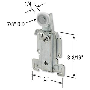 Bypass Door Single Top Roller