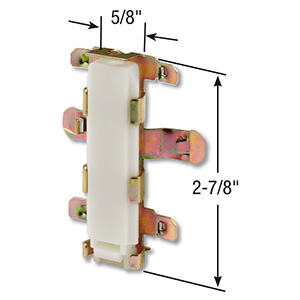 Bypass Door Bottom Guide