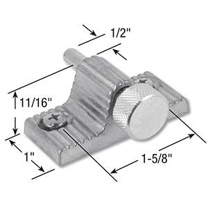 Sliding Window or Door Security Pin lock