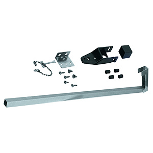 "Sliding Patio Door Security Bar 48"" Aluminum"