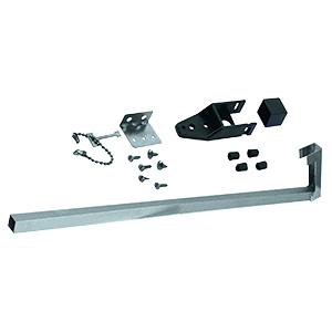 "Sliding Patio Door Security Bar 48"" Aluminum"