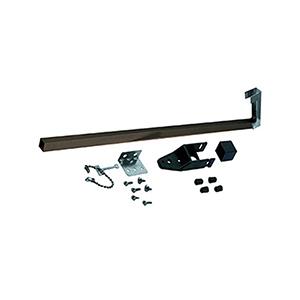 """Sliding Patio Door Security Bar 48"""" Bronze"""