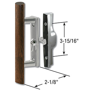 Sliding Patio Door Handle Set Aluminum