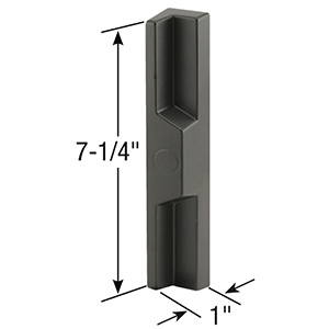 Sliding Patio Door Handle Universal Outside Black
