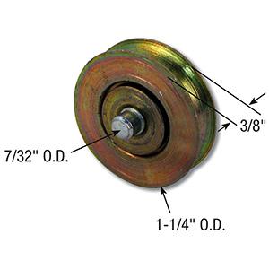 """Sliding Patio Door Wheel 1-1/4"""""""