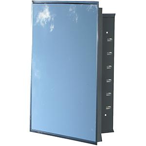 "Recessed Medicine Cabinet Framed Mirror 16"" x 20"""