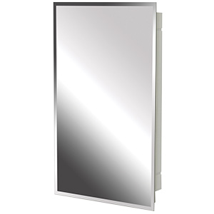 "Surface/Recessed Medicine Cabinet Beveled Mirror 16"" x 20"""