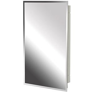 "Surface/Recessed Medicine Cabinet Beveled Mirror 16"" x 20"""