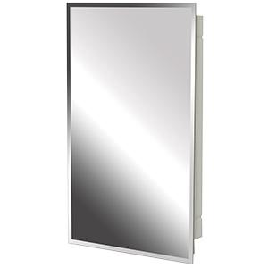 "Surface/Recessed Medicine Cabinet Beveled Mirror 16"" x 26"""