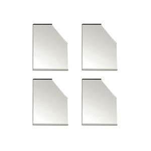 "Mirror Corner Acrylic Self-Adhesive 2-7/8"" x 2-7/8"""