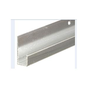Mirror Bottom Channel Silver 4 Ft