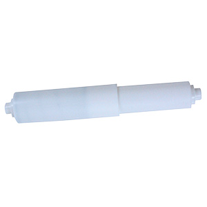 Toilet Paper Roller Dual Tip White