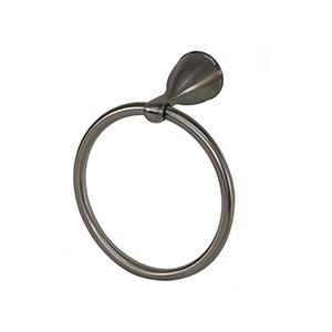 Ames Towel Ring Brushed Nickel