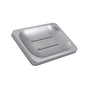 Soap Dish Exposed Screw Chrome