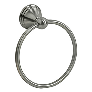 Fox Chapel Towel Ring Brushed Nickel