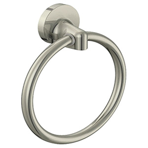 Alta Bay Towel Ring Brushed Nickel