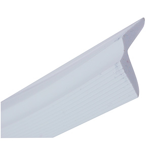 "Vinyl Self-Stick Tub Molding White 3/4"" x 60"""