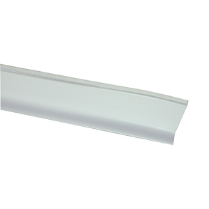 "Vinyl Self-Stick Tub Cove Molding White 1-1/2"" X 60"""
