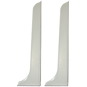 "Tall Splash Guards 48"" X 7"""