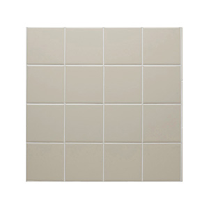 "Ceramic Square Tile Canvas 4-1/4"" x 4-1/4"""