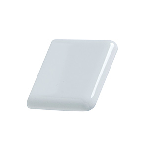 "Ceramic Surface Corner Tile White 2"" x 2"""