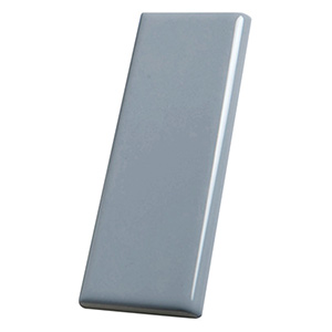 "Glass Subway Tile Amity Grey 3"" x 6"""