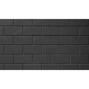 "Six3 Backsplash Tile 22"" x 46"" x 1/4"" Software Gray Panel 5-Pack"