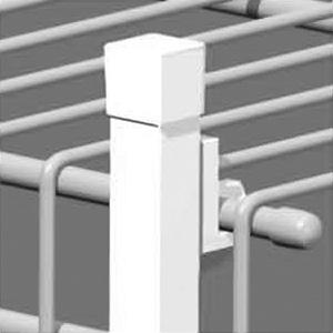 "Closetmaid Shelf Support Pole 86"""